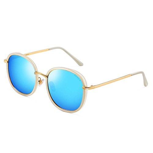 Ppy778 Polarisierte Sonnenbrille für Männer Outdoor Sport Eyewear ultraleichte metallische Metallrahmen HD-Objektiv (Color : C)