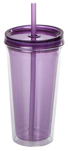 culinario Trinkbecher Ice Mug, Thermobecher mit 500 ml Inhalt, lila