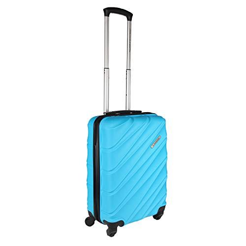United Colors of Benetton Roadster Hardcase Luggage ABS 57 cms Sky Blue Hardsided Cabin Luggage (0IP6HAB20B02I)