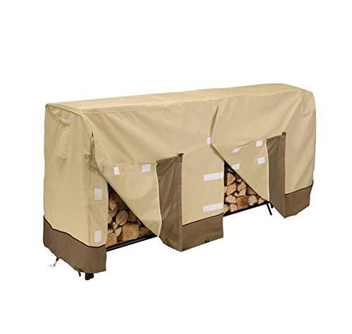 Muzyo - Funda para Muebles de jardín de Tela Oxford 600D con Revestimiento de PVC, Cubierta de leña...