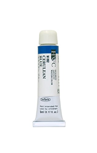 Holbein-palette (Holbein Watercolour : 5ml Tube CERULEAN BLUE)