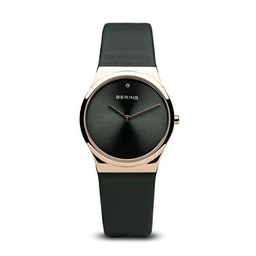 BERING Damen-Armbanduhr Analog Quarz Leder 12130-667