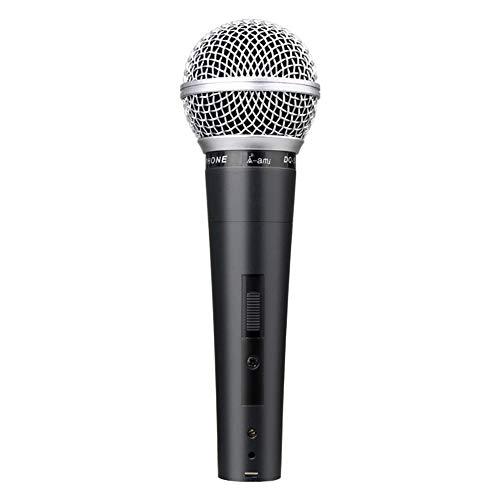 AMOWON Kabelgebundenes Mikrofon mit 3 m Kabel, dynamisches Handmikrofon Karaoke-Mikrofon Home Studio USB-Kondensatormikrofon für YouTube, Podcasting, Gaming