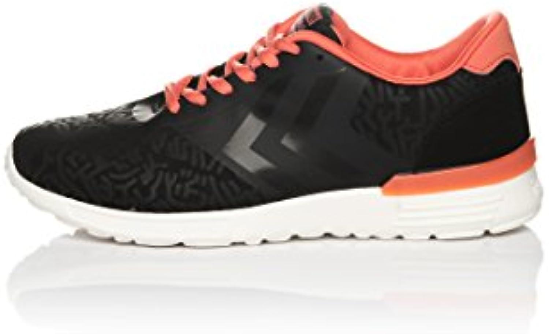 Hummel Sneaker Zerozero CPH Streets Lo Schwarz/Koralle EU 39