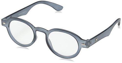 Sunoptic MR92B+2.50 Montana Eyewear Lesebrille in grau - Stärke +2.50 Inklusive Soft Etui, 1er Pack (1 x 1 Stück)