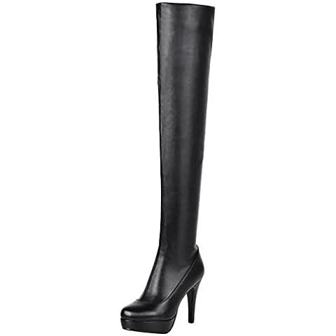 ELEHOT Donna Eleis tacco a spillo 11CM Leather