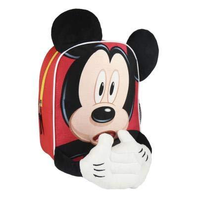 Cerdá Mickey Zainetto per bambini, 28 cm, Rosso (rojo)