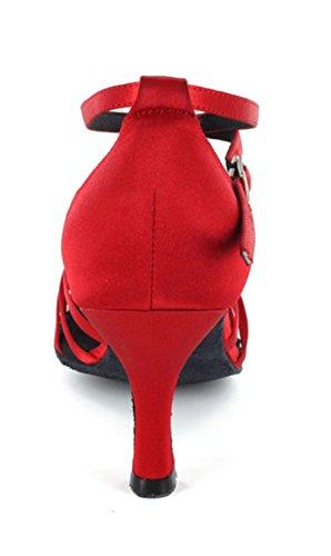 Minitoo ,  Damen Tanzschuhe Rot