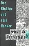 Der Richter und sein Henker. Roman (rororo, 150) - Dürrenmatt Friedrich und Karl Staudinger