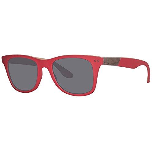 Diesel Unisex-Erwachsene DL0173 5268A Sonnenbrille, Rot, 52
