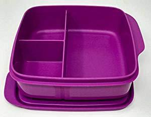 Tupperware® Clevere Pause in Lila! Eine große Brotdose mit Trennwand!