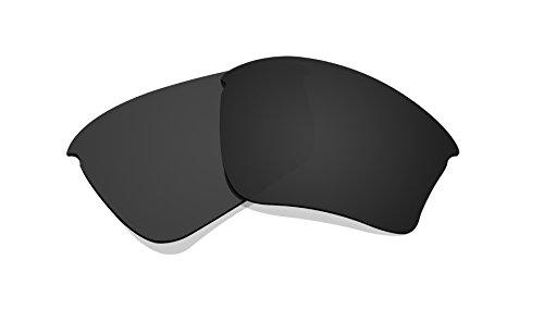 Schwarz Polarisierte Ersatz Gläser für Oakley Half Jacket Xlj Sonnenbrille
