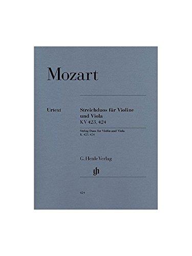 Mozart: String Duos K.423 & K.424 (Violin & Viola)