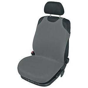 ZentimeX Z740551 Sitzbezug Einzelsitz T-Shirt-Design Baumwolle dunkel grau