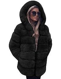 arrive magasins d'usine rencontrer Amazon.fr : manteau fausse fourrure femme - Violet : Vêtements