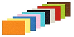 Ursus Papel para Dibujar 2222299, Aprox. 50 x 70 cm, 130 g/m², 100 Hojas Surtidas en 10 Colores, Multicolor.