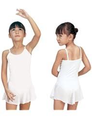 Sansha - E508M - Aida - Leotardo de danza para niña, color Lilas, tamaño 90 cm