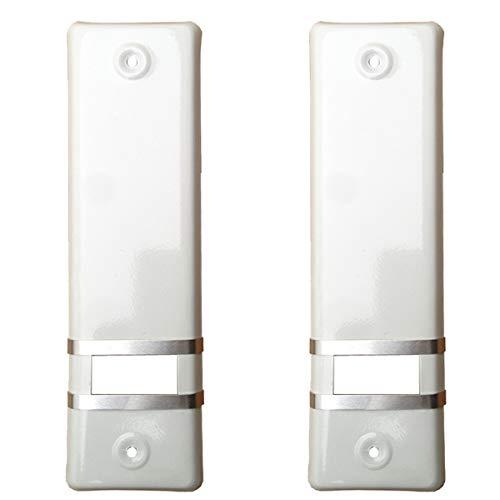 2er SET Gurtwicklerblende ohne Gurtausbau Lochabstand 160mm Blende für Gurt, Abdeckplatte