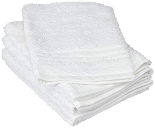Scheda dettagliata De Witte Lietaer 195.308 Luxury Hotel Set di 6 igienici Guanti di Cotone Bianco 15 x 22 cm