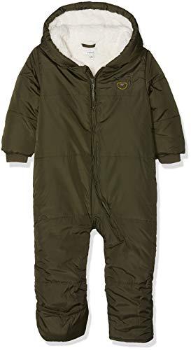 NAME IT Baby - Jungen Schneeanzug NBMMAKI Suit W. FOLD UP FEET, Grün Forest Night, 74