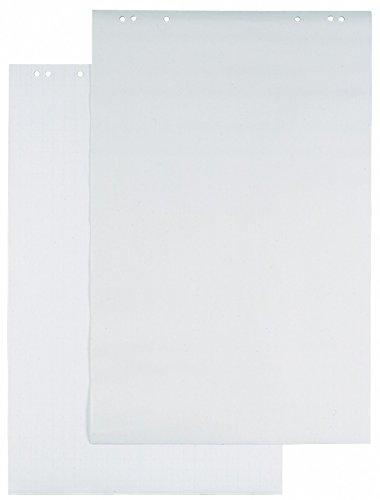 Durable 866202 Flipchart-Block,  1 Packung à 5 Stück, weiss