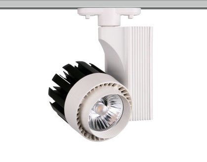 Foco de Carril LED Monofásico G8001 30W Luz Neutra 4000K