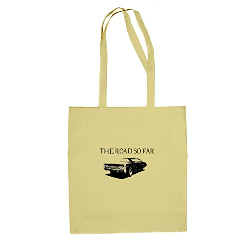 The Road So Far Car - Stofftasche / Beutel Natur