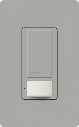 Lutron MS-OPS6M-DV-GR-6 Maestro 6 Amp Dual Voltage Occupancy Sensing Switch 6-Pack, Gray by Lutron Occupancy Sensing Switch