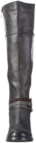 Marco Tozzi Damen 25501 Langschaft Stiefel Grau (Anthracite A.C 229)