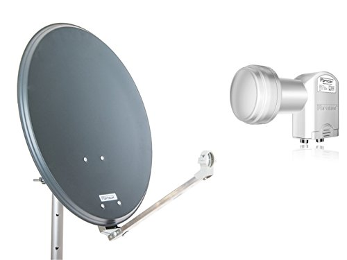 Opticum Stahl QA60 - Antena parabólica LNB Dual