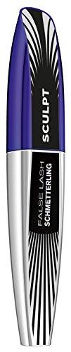 L'Oréal Paris False Lash Schmetterling Sculpt Mascara, schwarz - Wimperntusche für maximal entfaltete Wimpern und modelliertes Volumen- 1er Pack (1 x 9 ml)