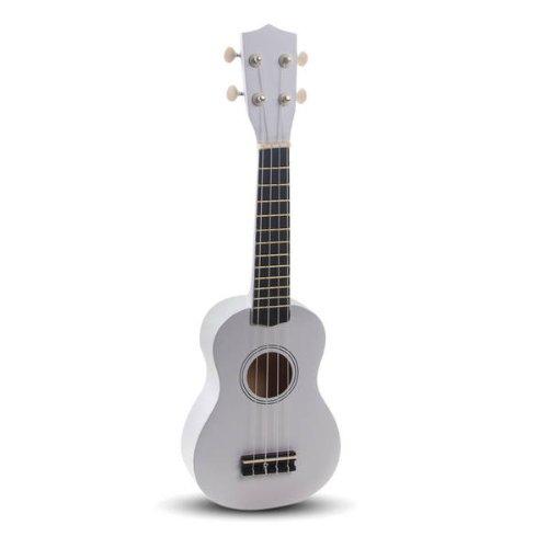 Ukulele Ukelele Soprano Acustico Blanco Instrumento Musical