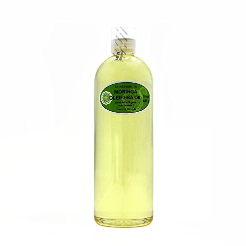 MORINGA OLEIFERA OIL BY DR.ADORABLE 100% PURE ORGANIC COLD PRESSED 16 oz/1 PINT