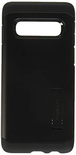 Spigen 605CS25805 Tough Armor Kompatibel mit Samsung Galaxy S10 Hülle, Doppelte Schutzschicht Handyhülle Fallschutz Schutzhülle Case Schwarz Schutzhülle Case