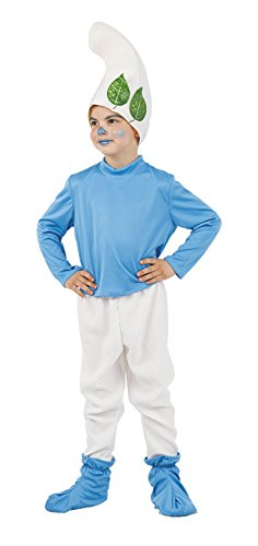 Imagen de disfraz de gnomo azul para niño  único, 9 a 11 años