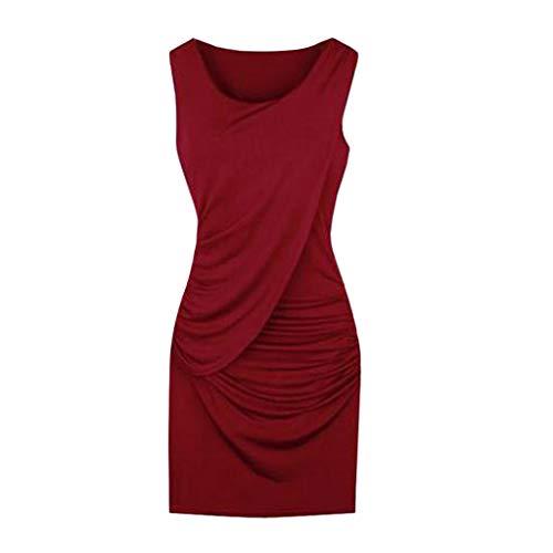 3847402bc31c Slyar Vestido De Fiesta Mujer Tallas Grandes Verano Vestidos Verano Mujer  Casual Nuevo 2019 Vestidos Verano