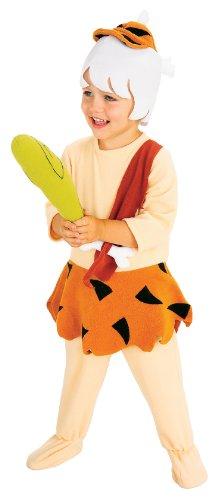 Bamm-Bamm Kinderkostüm aus Familie Feuerstein, (Kostüm Flintstone Familie Halloween)