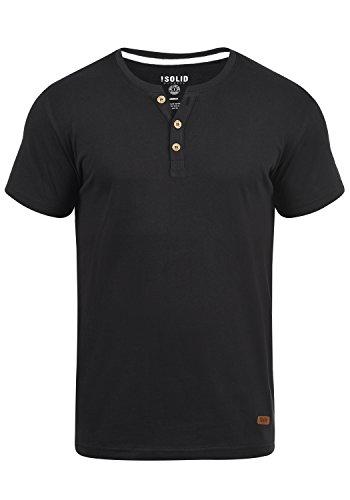 !Solid Volker - Camiseta para Hombre, Tamaño:L, Color Black (9000)