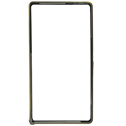 Casotec Metal Aluminium Bumper Frame Case Cover for Sony Xperia Z - Black  available at amazon for Rs.299