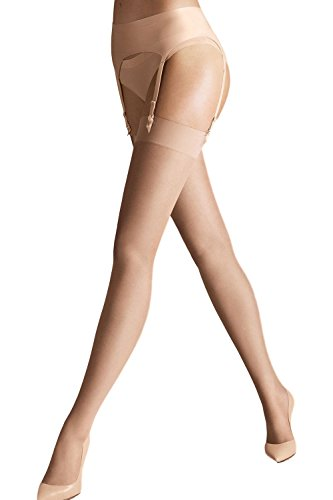 Wolford Damen Individual 10 Stocking 10 DENIER cosmetic M (10 Individual Tights)