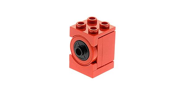 1 x Lego System Electric Motor Defekt rot 9V Mini Motor 2x2 Micro motor für Set