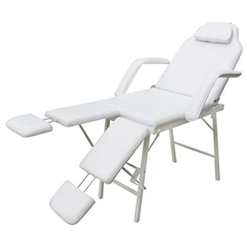 Kosmetikstuhl Kosmetikliege Massageliege Massagebank Massagetisch Massage Set