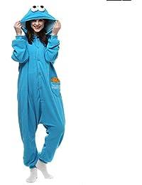 Unisex Adulto Pijamas Cosplay Disfraces Halloween Animal Pijamas Invierno  Mono 0ebe35ba681f