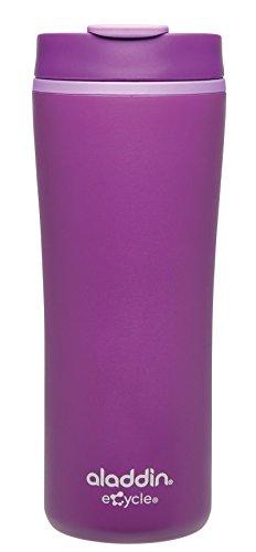 Aladdin 925016 Mug Recyclé, Plastique, Violet, 7,5 x 7,5 x 20 cm