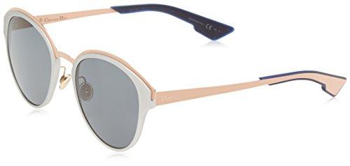 Dior Damen DIORSUN BN RCM Sonnenbrille, Pink (SLV Mtpeach/Dark Grey), 52