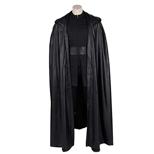 Weibliche Kostüm Star Wars - Cosplay Star Wars Skywalker Rise Kostüm Mantel Volle Kleidung Full Set (Remark Shoe Size)-XL