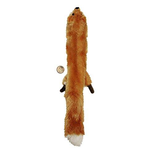 Skinneeez 470472 Hundespielzeug Fuchs, 61 cm, braun - 3