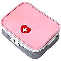 Yuan Ou Kit Primeros Auxilios Kit De Primeros Auxilios Al Aire Libre Bolsa De Viaje Portátil Pequeño 13 * 10 * 40cm Rosa