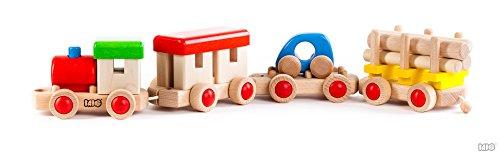 Spielzeug Holzeisenbahn Holzspielzeug Kinderspielzeug Motorispielzeug Zug Puzzle