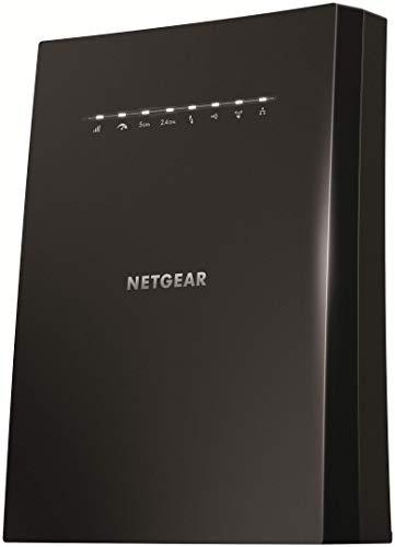 Netgear EX8000-100EUS AC3000 WLAN Mesh Repeater Tri-Band Wireless Signal-Verstärker und Booster (Abdeckung von 5 bis 6 Räumen und 50 Geräten, Geschwindigkeit bis zu 3000 MBit/s, smartes Roaming) - Wireless-gaming-ethernet-karte
